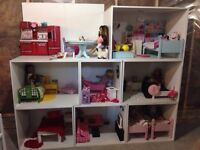 American Girl Doll House (contents NOT included)