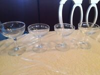 Coupes champagne vintage