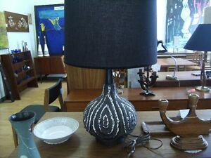 MAURICE CHALIGNAC  FAT LAVA LAMPS MCM RETRO TEAK Peterborough Peterborough Area image 1