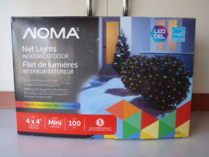 Multi coloured LED Net lights NEW