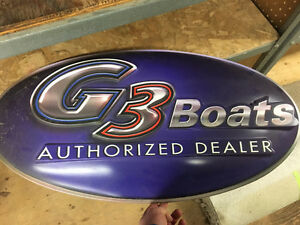 G3 Boats Sign - Yamaha
