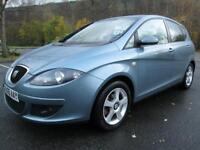 05/05 SEAT ALTEA SPORT 2.0 TDI AUTO IN MET BLUE WITH SERVICE HISTORY
