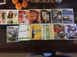 Wii Games and stuffs