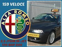 ALFA ROMEO 156 2.5 JTDM Ti 170 BHP 20V MJET+Z3,SKODA,RENAULT,VAUXHALL,FORD,HONDA,FIAT,PEUGEOT,ESTATE