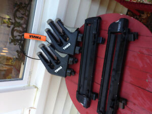 Thule ski rack and snowboard rack attachments, automative