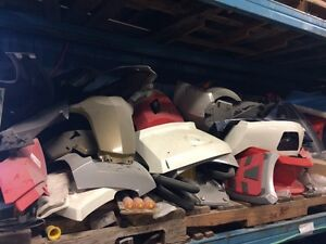 New Can Am plastics from auction
