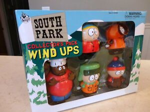 South Park 5 Pc. Wind Up Set Collectible Brand New Awesome Shape
