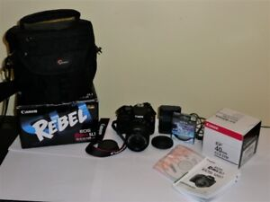 Canon eos Rebel SL1 DSLR Camera--mint condition