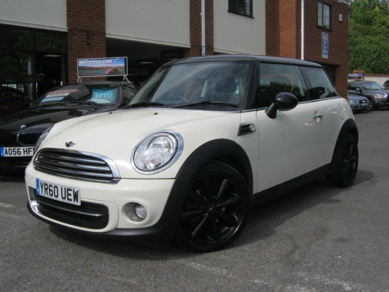 2010 60 reg mini cooper chilli new model pepper white great spec must see in worcester. Black Bedroom Furniture Sets. Home Design Ideas