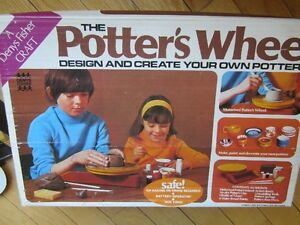 """""""The Potter's Wheel"""", 1974 Rare/Working - NEW PRICE!"""