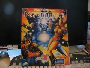 Heavy Metal Presents Psychorock GN (Heavy Metal) #1-1ST 1977