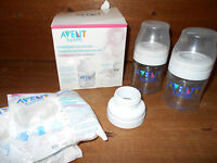 Avent breast pump converter/Trousse de conversion tire-lait