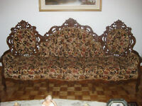SET DE SOFA ANTIQUE
