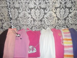 Girls size 6 brand name clothes
