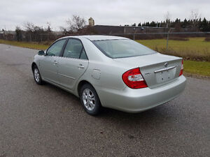 2003 Toyota Camry NO ACCIDENTS / SAFETY / E-TEST / WARRANTY London Ontario image 1