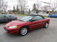 2001 Chrysler Sebring LXi  Décapotable