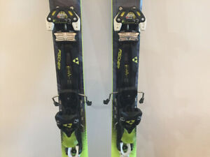 Fischer skis - my ranger ski with AT touring binding