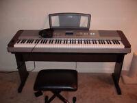 Yamaha Piano DGX-640 +Stand+Pedal+Bench(88 keys)