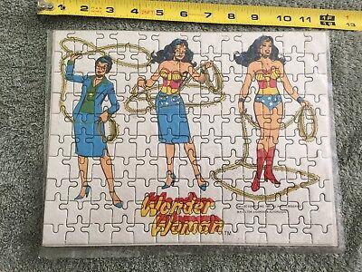 Vintage RARE 1981 Wonder Woman Puzzle