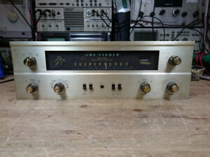 FISHER 400 VACUUM TUBE RECEIVER RECAPPED ORIGINAL TUBES AWESOME