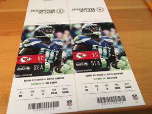 Kansas City Chiefs at Seattle Seahawks
