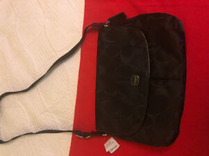 Coach Nylon Messenger Bag