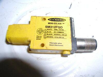 Banner Sm312fqd Fiber Optic Sensor