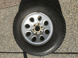 P265/70R/17 M+S Firestone Tires w GM rims