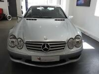 Mercedes SL SL350 Auto Convertible, Silver, Nav, Leather