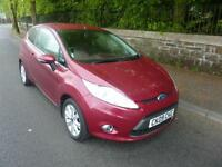 2009 '09' FORD FIESTA 1.25 ZETEC 82, 3 DOOR HATCH IN METALLIC HOT MAGENTA