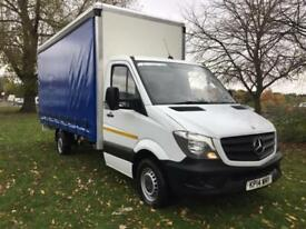 Mercedes Sprinter 313Cdi 3.5T 16ft (5m) Curtainsider, Brand New Body