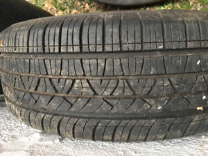 Dodge Caravan Tires on Rims
