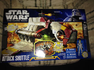 Star Wars The Clone Wars Republic Attack Shutte