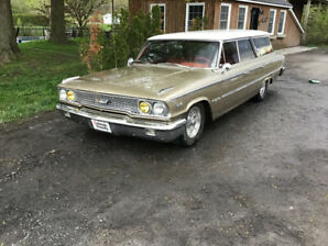 Ford galaxie country sedan 1963