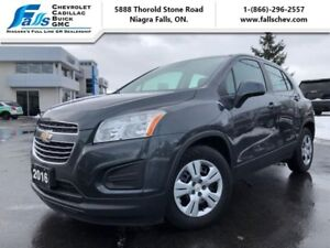 2016 Chevrolet Trax LS  BLUETOOTH,ONE OWNER, NO ACCIDENTS