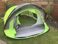 Quechua 3 person pop up tent