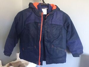 Boys winter jacket and boots