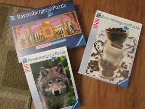 High quality Ravensburger puzzles - brand new, price reduced!