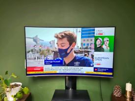"Samsung 49"" curved tv"