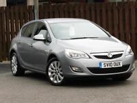 Vauxhall Astra 1.4 i VVT Exclusiv 5dr PETROL MANUAL 2010/10