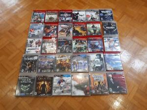 JEUX DE PS3 À VENDRE 6$CH. OU 4 POUR 20$