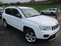 2012 JEEP COMPASS SPORT IN WHITE ESTATE PETROL