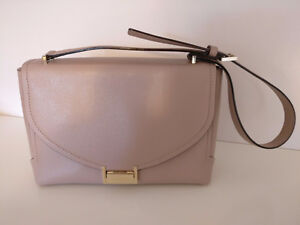 Kate Spade Satchel Purse Shoulder Bag in Neutral / Nude