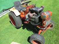 """Case 446 lawn tractor and 48"""" deck"""