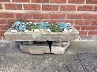 2 Stone Troughs for sale