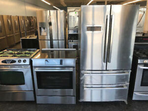 Stainless STOVES/FRIDGES starting at ONLY $399 Warranty/Delivery