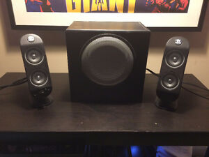 LOGITECH X 230 2.1 Speakers with Subwoofer