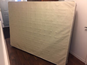 Free queen box spring, need gone ASAP