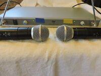Wireless mic,s