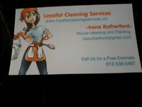 Loyalist cleaning services